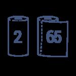 icon 65 Blatt Rolle