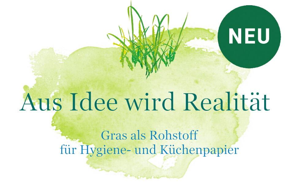 Gras als Rohstoff - Produktinnovation